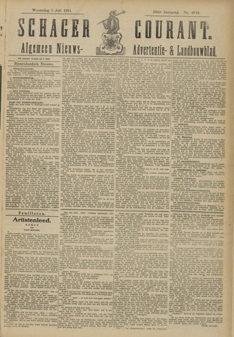 Schager Courant 1911-07-05