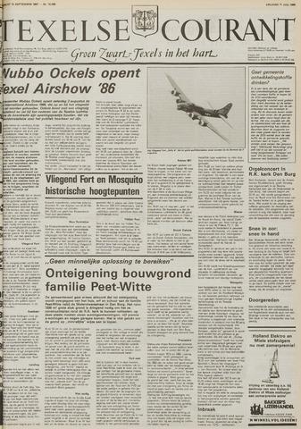 Texelsche Courant 1986-07-11