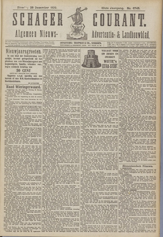 Schager Courant 1920-12-28