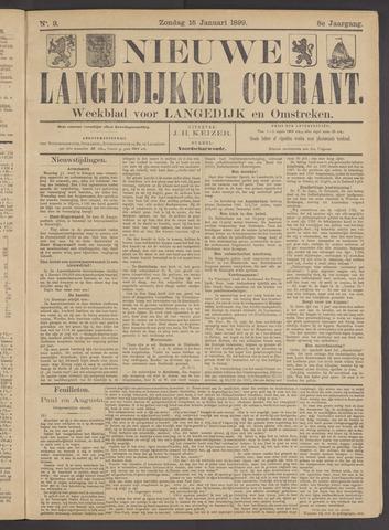 Nieuwe Langedijker Courant 1899-01-15