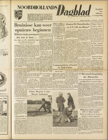 Noordhollands Dagblad : dagblad voor Alkmaar en omgeving 1953-04-14