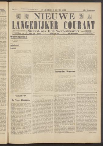 Nieuwe Langedijker Courant 1932-05-12