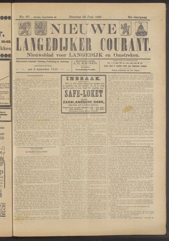 Nieuwe Langedijker Courant 1922-06-13