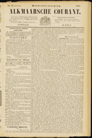 Alkmaarsche Courant 1898-07-10