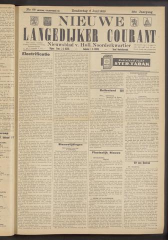 Nieuwe Langedijker Courant 1929-06-06