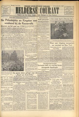Heldersche Courant 1952-04-07