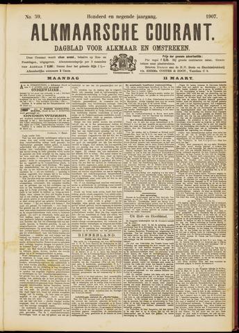 Alkmaarsche Courant 1907-03-11