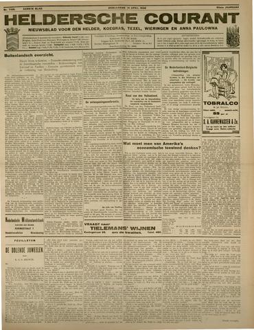 Heldersche Courant 1932-04-14
