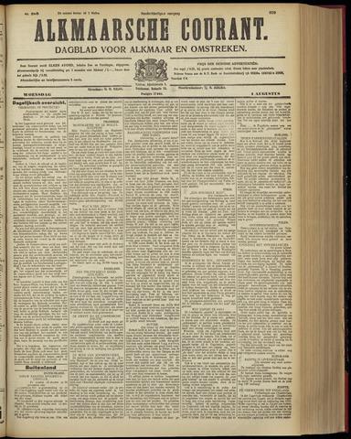 Alkmaarsche Courant 1928-08-01