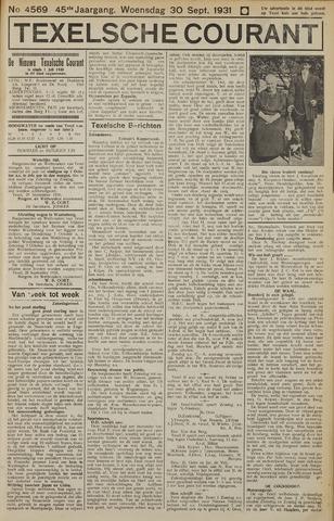 Texelsche Courant 1931-09-30