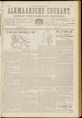 Alkmaarsche Courant 1914-07-29