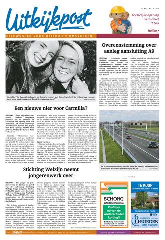 Uitkijkpost : nieuwsblad voor Heiloo e.o. 2015-11-11