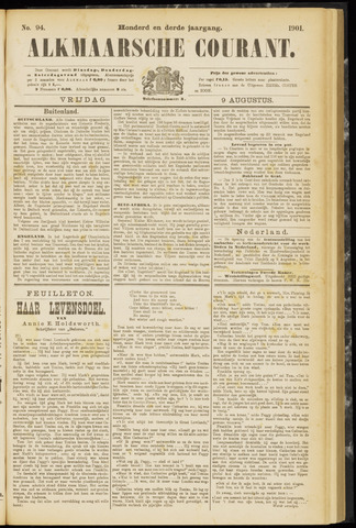 Alkmaarsche Courant 1901-08-09