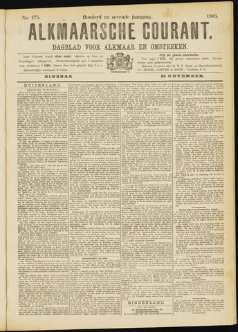 Alkmaarsche Courant 1905-11-14