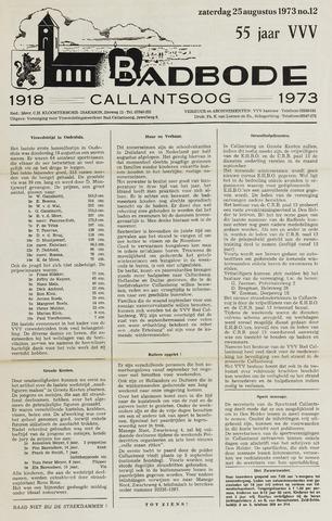 Badbode voor Callantsoog 1973-08-25