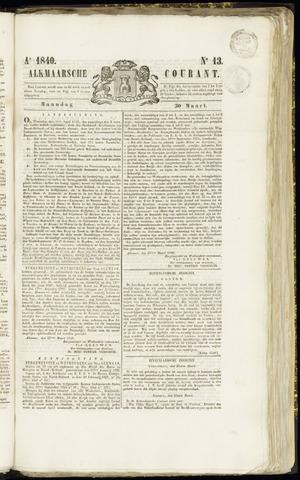 Alkmaarsche Courant 1840-03-30