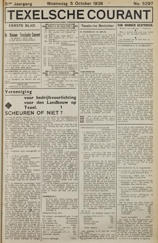 Texelsche Courant 1938-10-05
