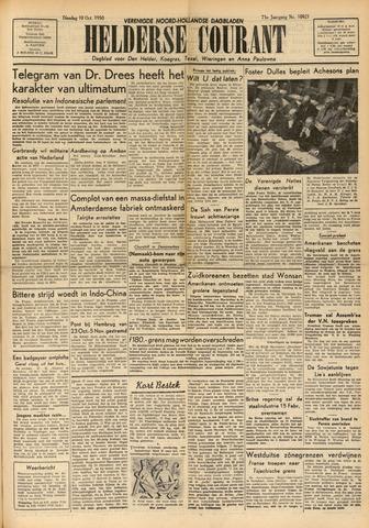 Heldersche Courant 1950-10-10