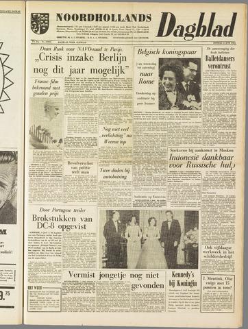 Noordhollands Dagblad : dagblad voor Alkmaar en omgeving 1961-06-06