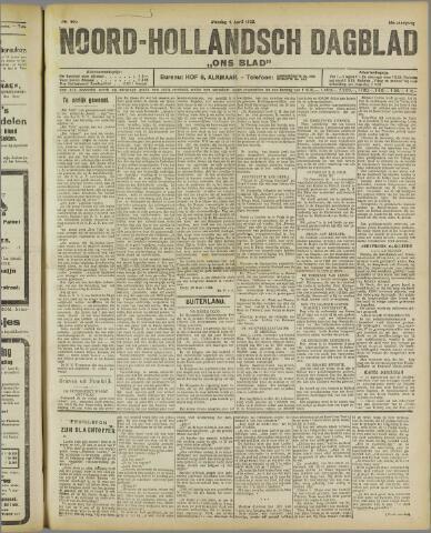 Ons Blad : katholiek nieuwsblad voor N-H 1922-04-04
