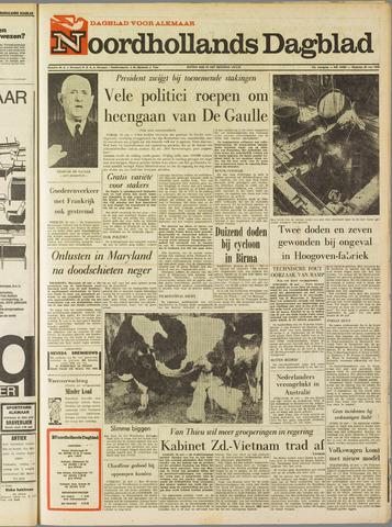 Noordhollands Dagblad : dagblad voor Alkmaar en omgeving 1968-05-20