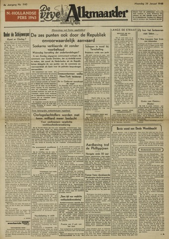 De Vrije Alkmaarder 1948-01-26
