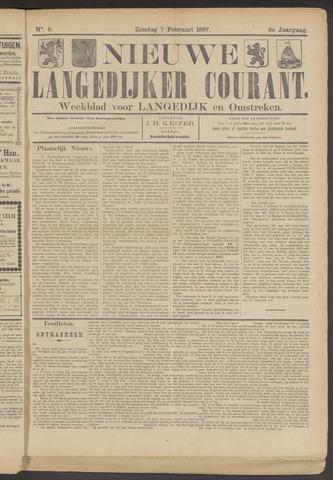 Nieuwe Langedijker Courant 1897-02-07