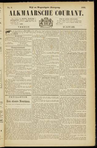 Alkmaarsche Courant 1893-01-13