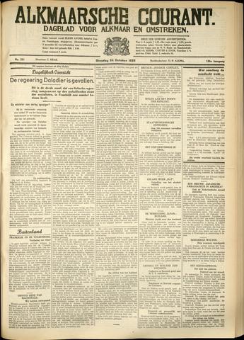 Alkmaarsche Courant 1933-10-24