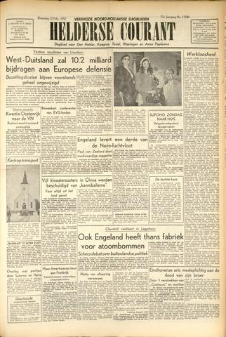 Heldersche Courant 1952-02-27