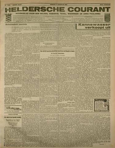 Heldersche Courant 1931-08-11