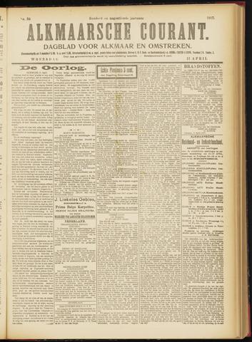 Alkmaarsche Courant 1917-04-11