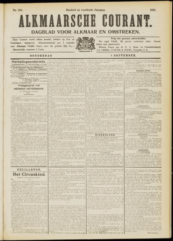 Alkmaarsche Courant 1912-09-05