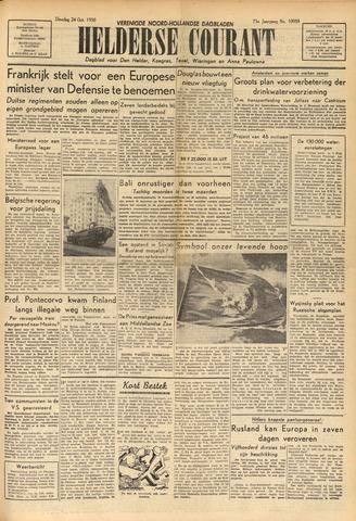 Heldersche Courant 1950-10-24