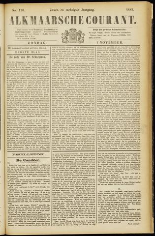 Alkmaarsche Courant 1885-11-01