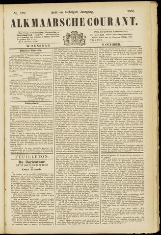 Alkmaarsche Courant 1886-10-06