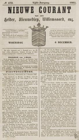 Nieuwe Courant van Den Helder 1865-12-06