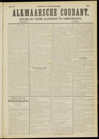 Alkmaarsche Courant 1912-06-07