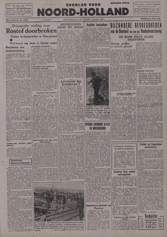 Dagblad Noord-Holland, Schager editie 1942-07-24