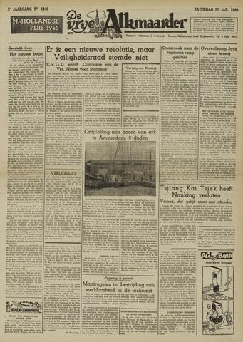 De Vrije Alkmaarder 1949-01-22
