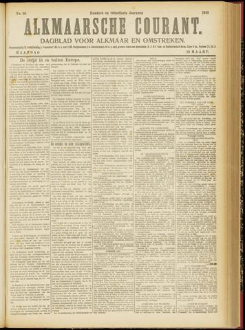 Alkmaarsche Courant 1918-03-18