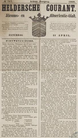 Heldersche Courant 1868-04-11