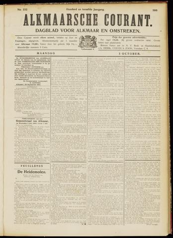 Alkmaarsche Courant 1910-10-03