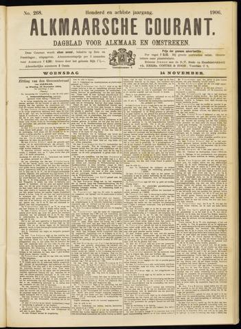 Alkmaarsche Courant 1906-11-14