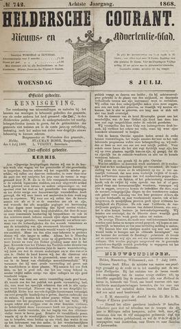 Heldersche Courant 1868-07-08