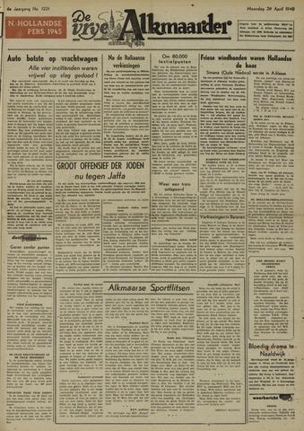 De Vrije Alkmaarder 1948-04-26