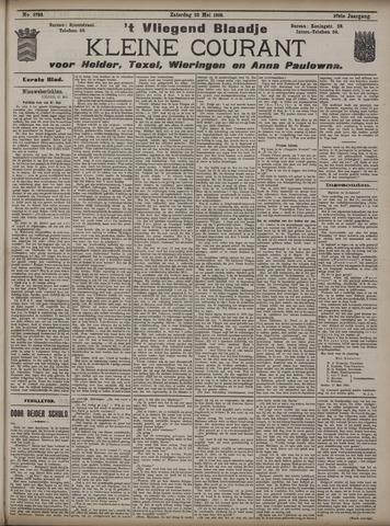 Vliegend blaadje : nieuws- en advertentiebode voor Den Helder 1909-05-22