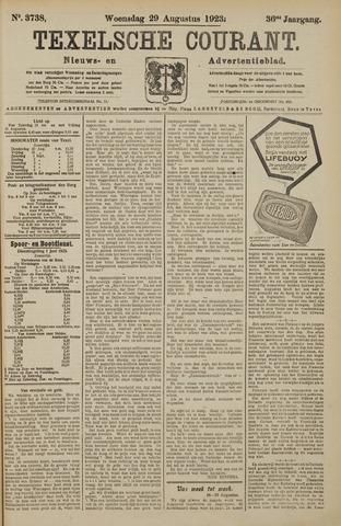 Texelsche Courant 1923-08-29