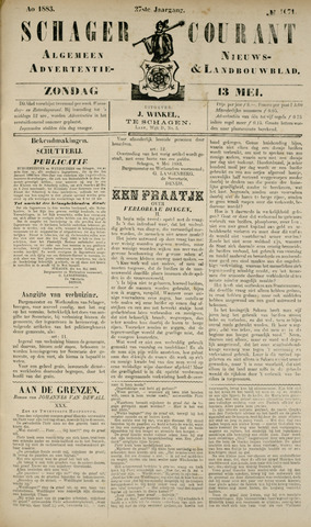 Schager Courant 1883-05-13
