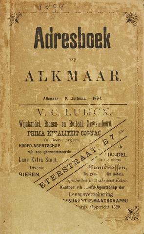 Adresboek van Alkmaar 1894-01-01